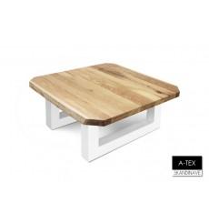 Table basse  en chêne massif A-TEX NATUR COFFEE 6, 60 cm