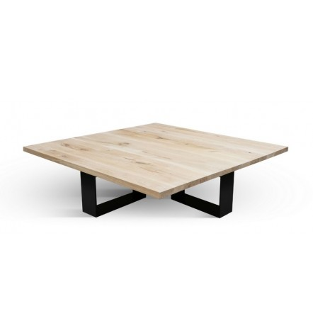 Table basse  en chêne massif A-TEX NATUR COFFEE 2