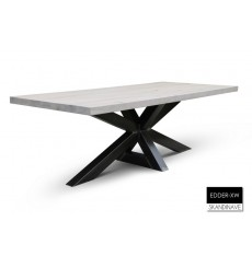 Table à manger en chêne massif EDDER-XW 240 cm