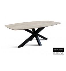 Table à manger en chêne massif EDDER-NORD 220 cm