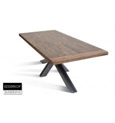 Table à manger en chêne massif EDDER KOP 220 cm