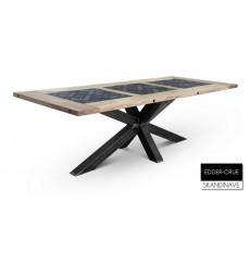 Table à manger en chêne massif EDDER-CRUE 240 cm