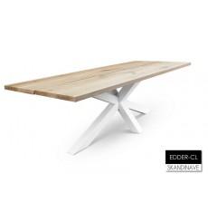 Table à manger en chêne massif EDDER-CL 240 cm