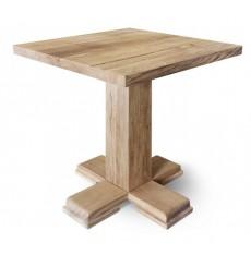 Table en chêne massif CASTLE-ILLY, 70 cm