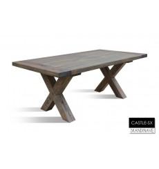 Table basse en chêne massif CASTLE-SX, 135 cm