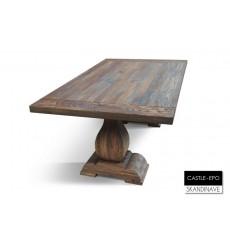 Table basse en chêne massif CASTLE-EPO 135 cm