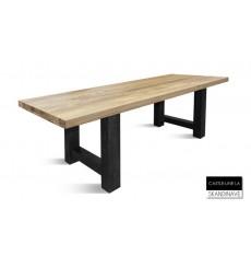 Table à manger en chêne massif LINE LA 200 cm