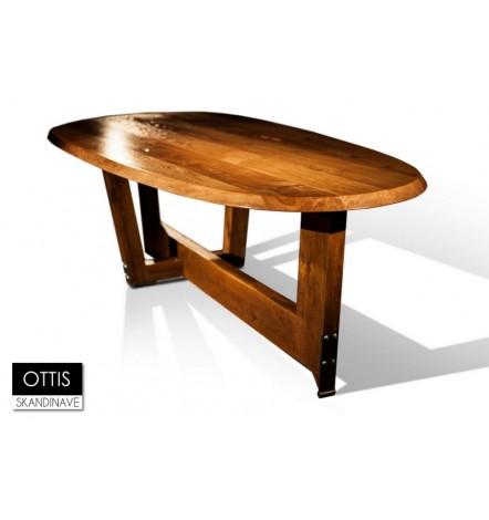 Table à manger en chêne massif OTTIS