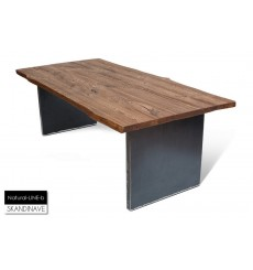 Table en chêne massif Natural-LINE-B 180 cm