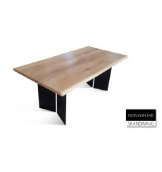 Table en chêne massif Natural-LINE 180 cm
