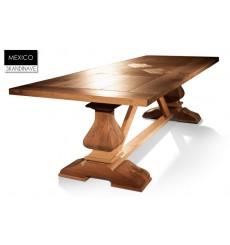 Table à manger en chêne massif MEXIQUE 300 cm