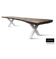 Table à manger en chêne massif LIGRAM 410 cm
