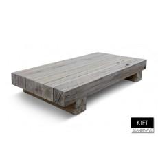 Table basse en chêne massif KIFT-Danish 160 cm