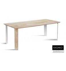 Table à manger en chêne massif KASAKO 3, 200 cm