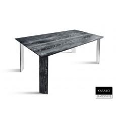 Table à manger en chêne massif KASAKO 2, 180 cm