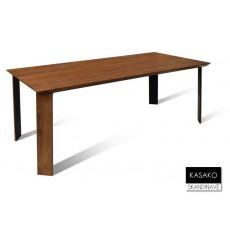 Table à manger en chêne massif KASAKO 200 cm