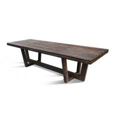Table à manger en chêne massif KAMELOT-III, 280 cm