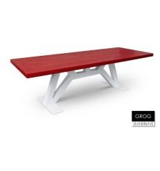 Table à manger en chêne massif GROG 2, 260 cm