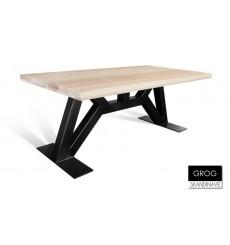 Table à manger en chêne massif GROG, 180 cm