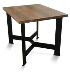 Table à manger en chêne massif GERT 2, 100 cm