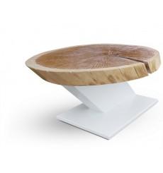 Table basse en chêne massif ETICO 180 cm