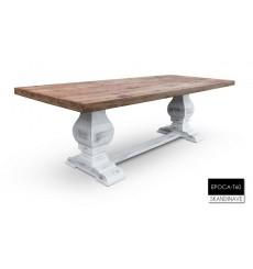 Table à manger en chêne massif EPOCA-T60, 760 cm