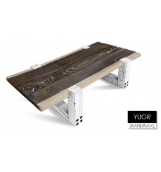 Table basse en chêne massif YUGR 3