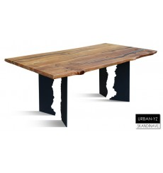 Table à manger en chêne massif URBAN-YZ, 180 cm