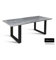 Table à manger en chêne massif URBAN-U4, 220 cm