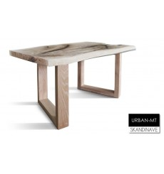 Table à manger en chêne massif URBAN-MT 85 cm