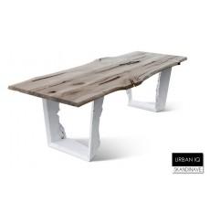 Table à manger en chêne massif  URBAN-IQ 4, 250 cm