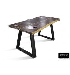 Table à manger en chêne massif  URBAN-IQ 3, 170 cm