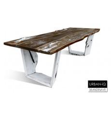 Table à manger en chêne massif  URBAN-IQ 2, 280 cm
