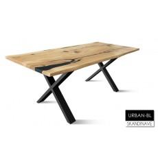 Table à manger en chêne massif URBAN-BL, 200 cm