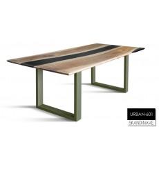 Table à manger en chêne massif URBAN-601, 220 cm