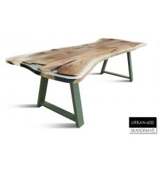 Table à manger en chêne massif URBAN-600, 260 cm