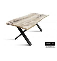 Table à manger en chêne massif URBAN-100, 180 cm