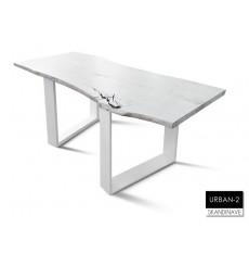 Table à manger en chêne massif URBAN-2-2, 170 cm