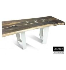 Table à manger en chêne massif URBAN-2, 180