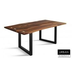 Table à manger en chêne massif URBAN 8, 200 cm