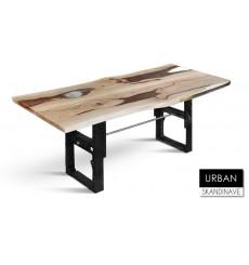 Table à manger en chêne massif URBAN 7, 200 cm