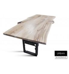 Table à manger en chêne massif URBAN 3, 180 cm
