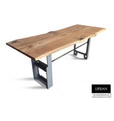 Table à manger en chêne massif URBAN 2, 180 cm