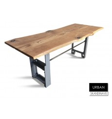 Table à manger en chêne massif URBAN, 180 cm