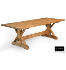 Table à manger en chêne massif TAVERNA 200 cm