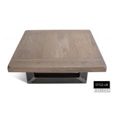 Table basse en chêne massif STYLE-UB 85 cm