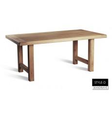 Table à manger en chêne massif STYLE-D 180 cm