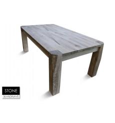 Table à manger en chêne massif STONE Danish 220 cm