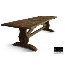 Table à manger en chêne massif ROLDVIN 260 cm