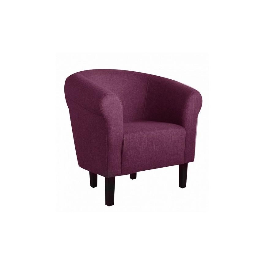 Fauteuil Club Monaco violet